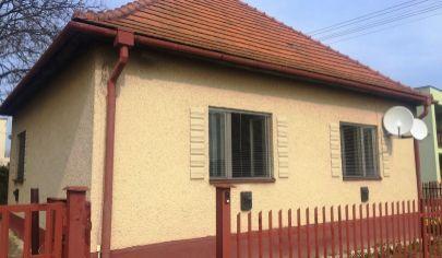 CHYNORANY 2 izbový dom pozemok 963 m2, okr. Partizánske