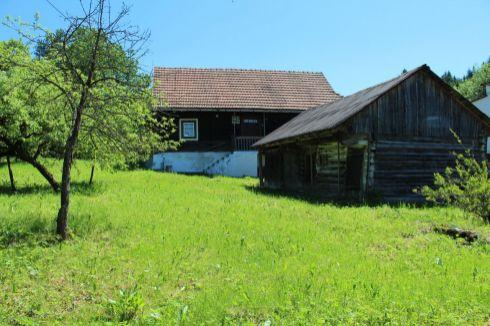 Pekná drevenica v obci Osádka