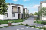 Nadštandardné bývanie - predaj 3-izb. bytov v lukratívnej časti Dunajskej Stredy, Byt De Luxe, prízemná časť budovy, 87 m2, 2x vlastné parkovisko, záhrada 170 m2, vykurovanie použitím tepelného čerpad