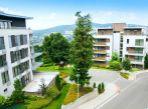 prenájom, 4-izbový luxusný byt v uzavretom komplexe, terasa, balkón, parking, strážna služba, Hradný vrch
