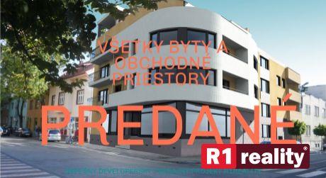 Nový bytový dom /13 bytov + nebytové priestory/ centrum Piešťany
