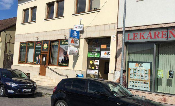 Prenájom kancelárie pri OC Európa vo Zvolene