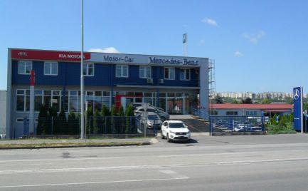 Na predaj komplet zariadená predajňa a servis áut v Nitre.