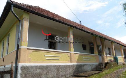 GEMINIBROKER Vám ponúka na predaj rodinný dom v obci Bózsva