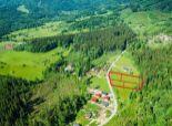Pozemok na 4 rodinné domy v prírode