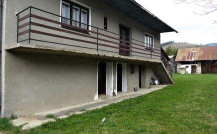Zachovalý rodinný dom Heľpa