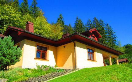 Predaj 5 izbový rodinný dom s malým hosťovským domom, Nesluša, Kysucké Nové Mesto