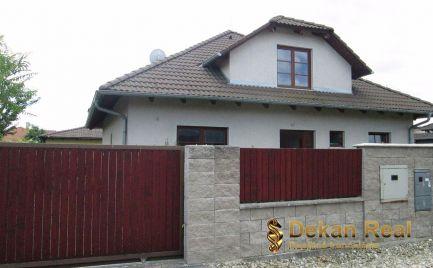 R E Z E R V O V A N É !!!  Výhodná ponuka! Predaj 5 izbový rodinný dom novostavba Kalinkovo, Nové Kalinkovo