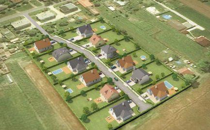 Možnosť výstavby 12 rodinných domov. Na predaj investičný stavebný pozemok Trnávka pri Šamoríne, okres Dunajská Streda