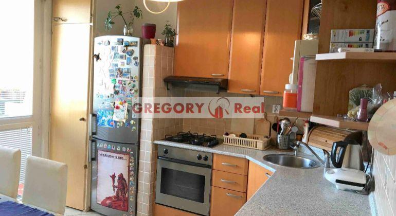 REZERVÁCIA! GREGORY Real, PREDAJ 3-izbový byt, začiatok Petržalky, s výhľadom na Chorvátske rameno, Hálová ul., Bratislava V. Petržalka