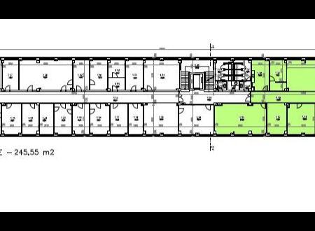 Prenájom administratívny celok 245,55m2,, Drieňová ul., Lake Building