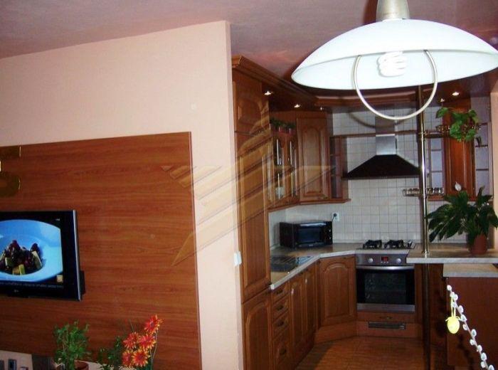 PREDANÉ - KAZANSKÁ, 2–i byt, 62 m2 - krásny slnečný byt, kuchynská linka na mieru, balkón, pivnica, NOVOSTAVBA