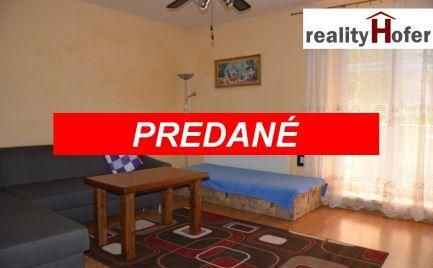 Tehlový 3 izb. byt s vlastným kúrením, obec Kapušany, Prešov