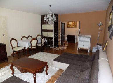 PREDAJ: 2 izbový, slnečný byt Podunajská 13, Podunajské Biskupice , s parkovaním, zariadený ,  76 m2 , 2 balkón