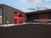 Nová výrobná hala v Nitre na prenájom (Projekt)