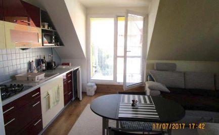 1 izb. byt s balkónom a so zariadením