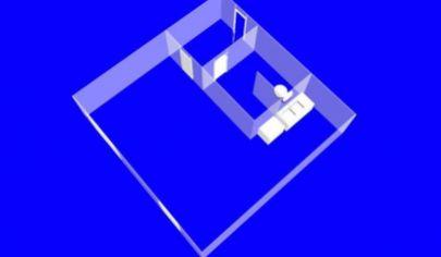 NOVÁ DUBNICA 1 izbový byt 1 poschodie rozloha 44 m2,  ul. Trenčianska