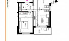 Kvalitné bývanie v novostavbe MERCATINO –  Priestranný 2izb.byt s výmerou 61,7 m2 za  skvelú cenu!