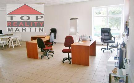 Prenájom kancelárie 90 m2 v centre Martina, pri nemocnici