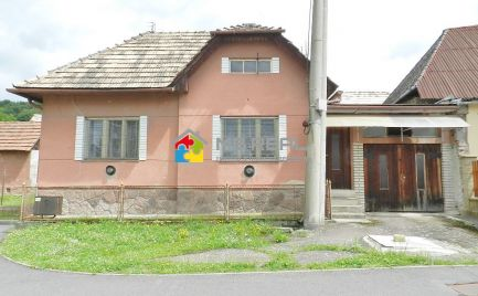 Rodinný dom s projektom na prestavbu, Ladomerská Vieska