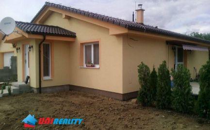 PREDANÉ - DEŽERICE - okres Bánovce nad Bebravou - rodinný dom na predaj - novostavba -pozemok 625 m2