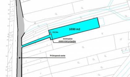 Stavebný pozemok 1030 m2, Nemečky, okres Topoľčany