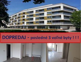 DOPREDAJ - posledné 2 voľné byty v  novostavbe s 2 park. miestami ! ! ! Martin - Priekopa