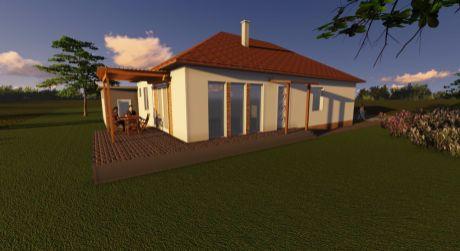 5 - izbový veľký rodinný dom 135 m2 obytná plocha a 600 m2 pozemok