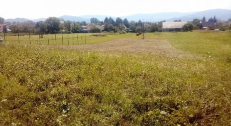 Predaj stavebného pozemku v obci Očová.