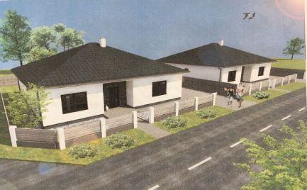 REZERVOVANÉ - Praktické 4 izb rodinné domy v novej časti obce Lehnice