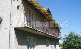 Na predaj veľký rodinný dom v obci Večelkov, okres Rimavská Sobota