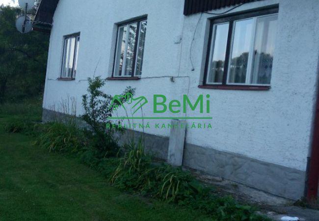 Predaj:Rodinný dom v Krásne nad Kysucou s veľkým pozemkom(263-12-JAS)