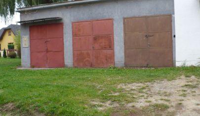 MARTIN - tehlová garáž rozloha 20m2 s elektrikou, Podháj