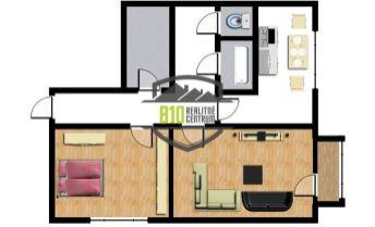 Predaj, 2 izbový byt, 64m2, balkón, Topoľčany